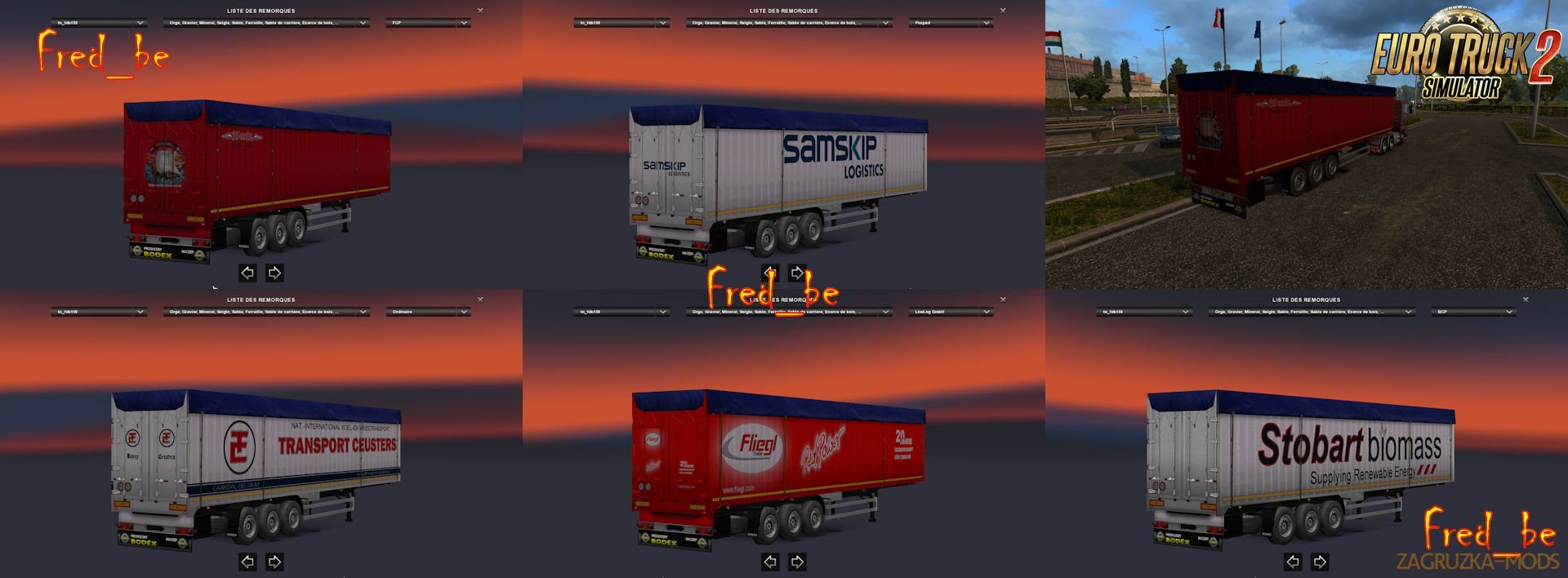 Trailer Pack Bodex v1.27 [1.27.x]
