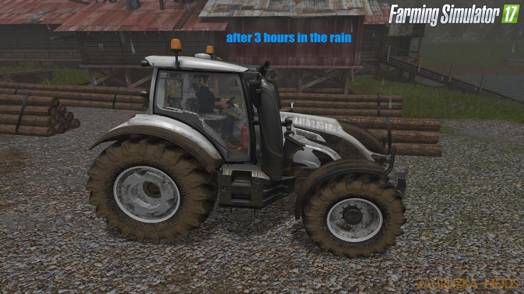 Dirty Rain v1.0 for Fs17