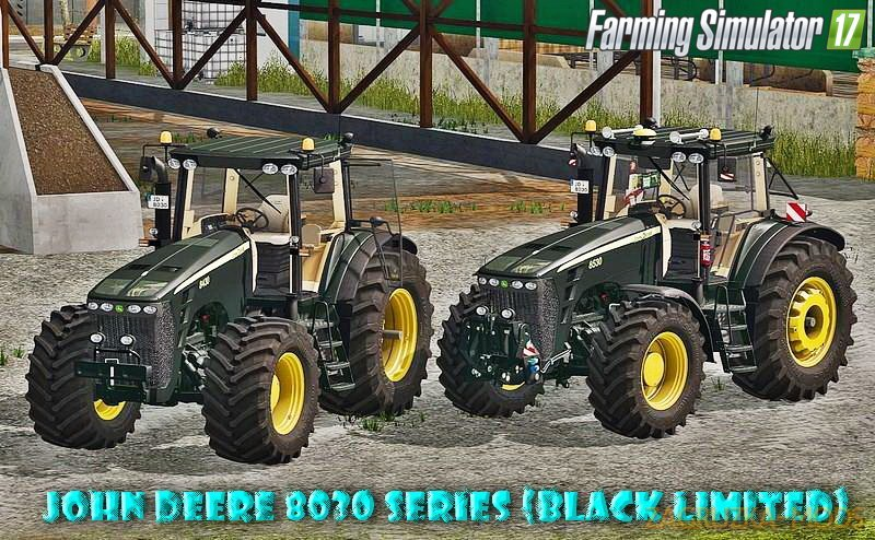 Tractor John Deere 8030 Series (Black Limited) v1.0 for FS 17