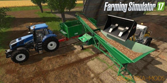Armer Salmon 120 Cleaner Loader v1.1 for Fs17