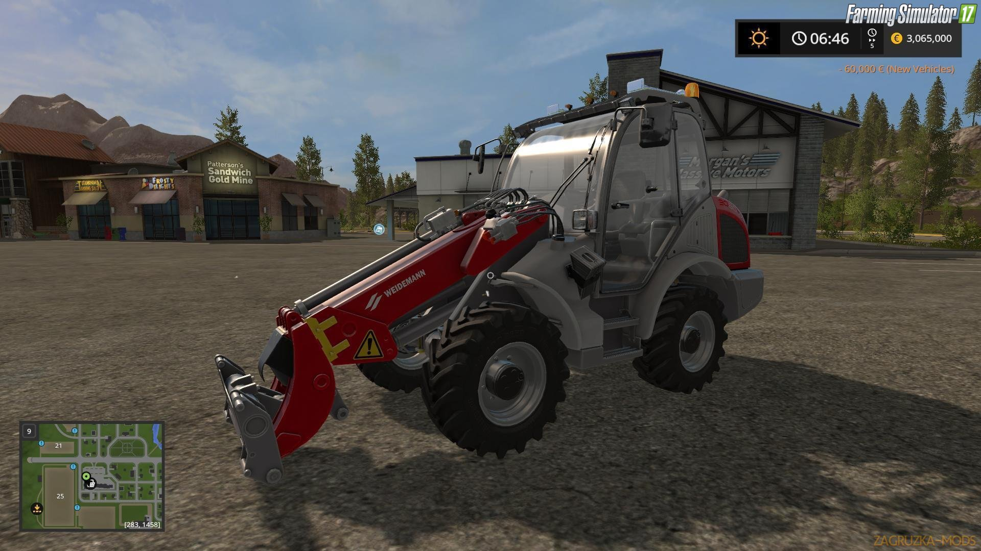 Weidemann v1.2 by Lucw33 for Fs17