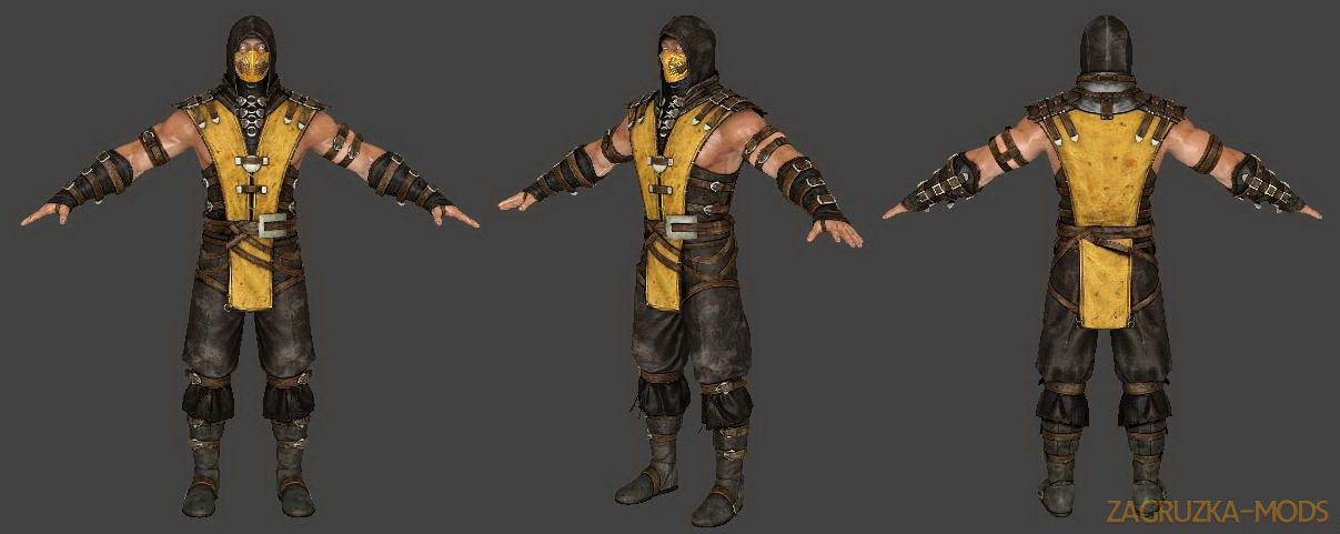 Scorpion character from Mortal Kombat v1.0 for CS:GO