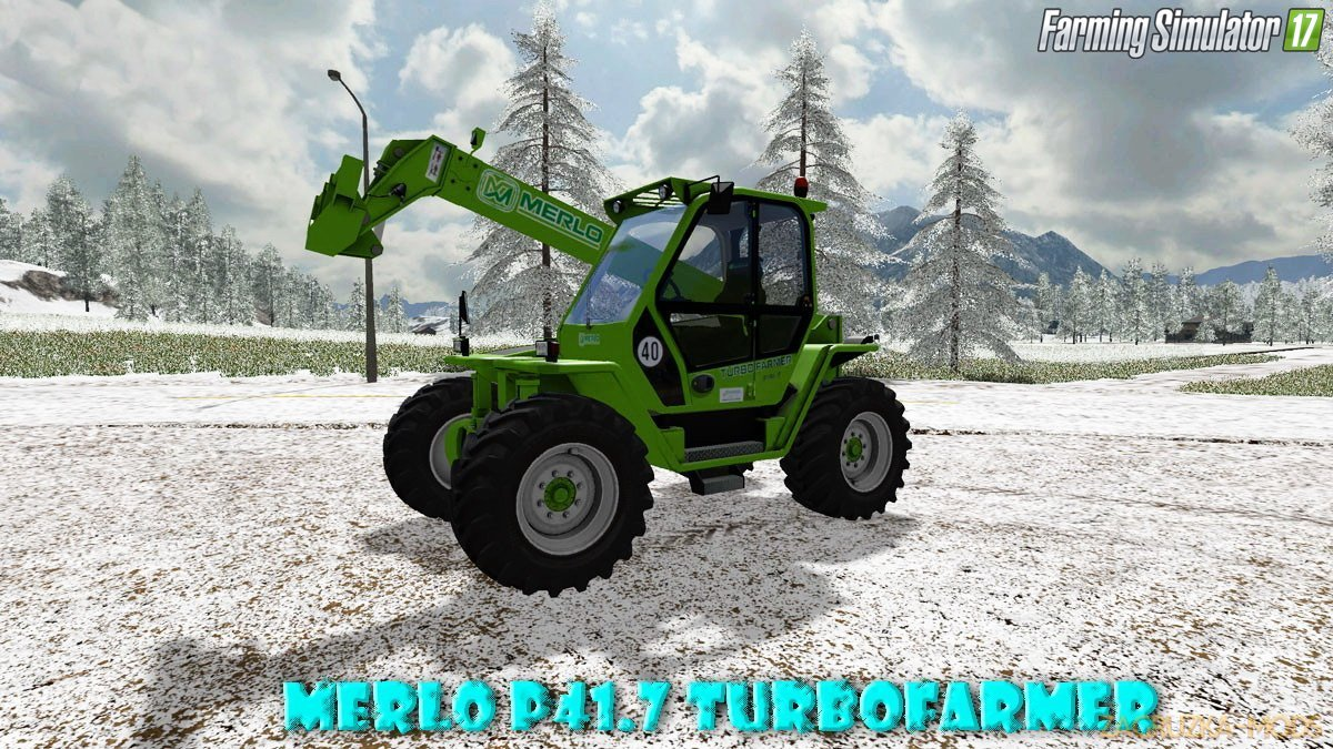 Merlo P41.7 Turbofarmer v1.1 for FS 17