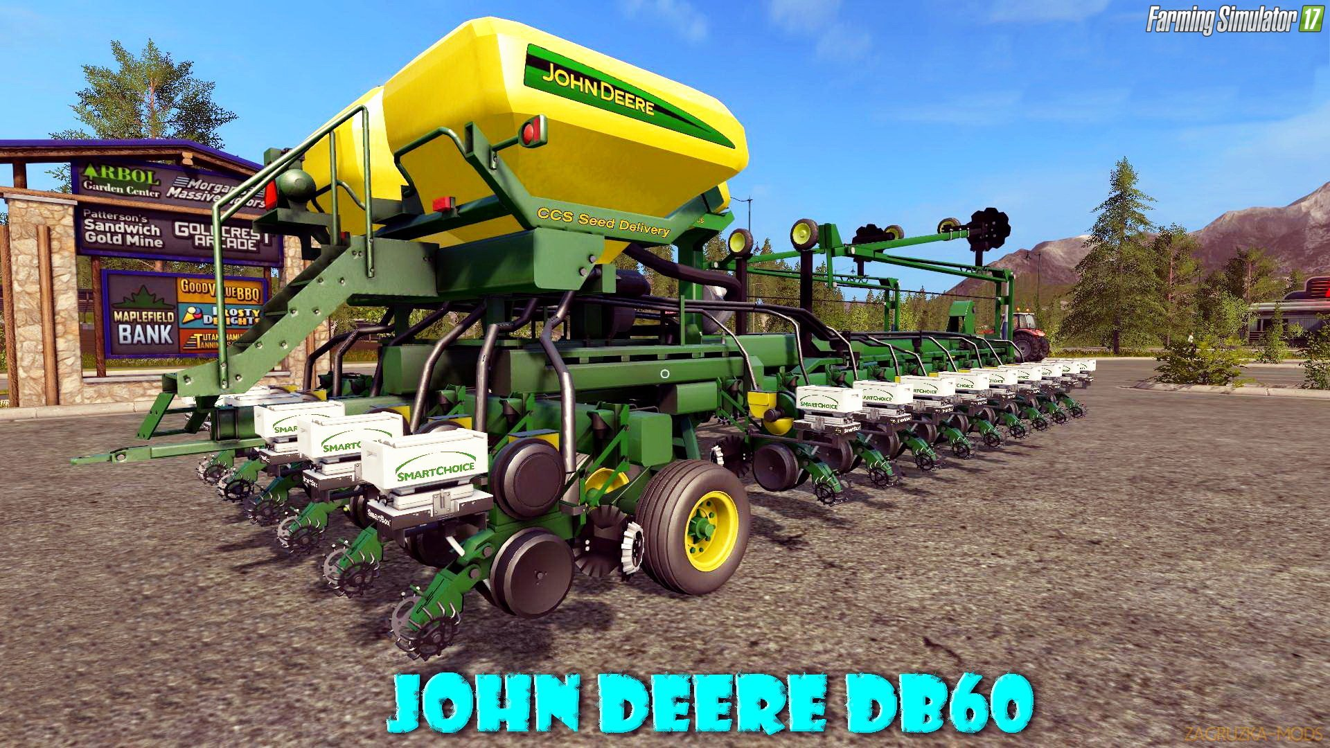 John Deere DB60 v5.0 for FS 17