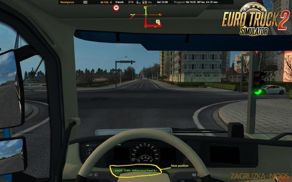 New Route Advisor v1.1 by XEBEKzs (Ets2-Ats)