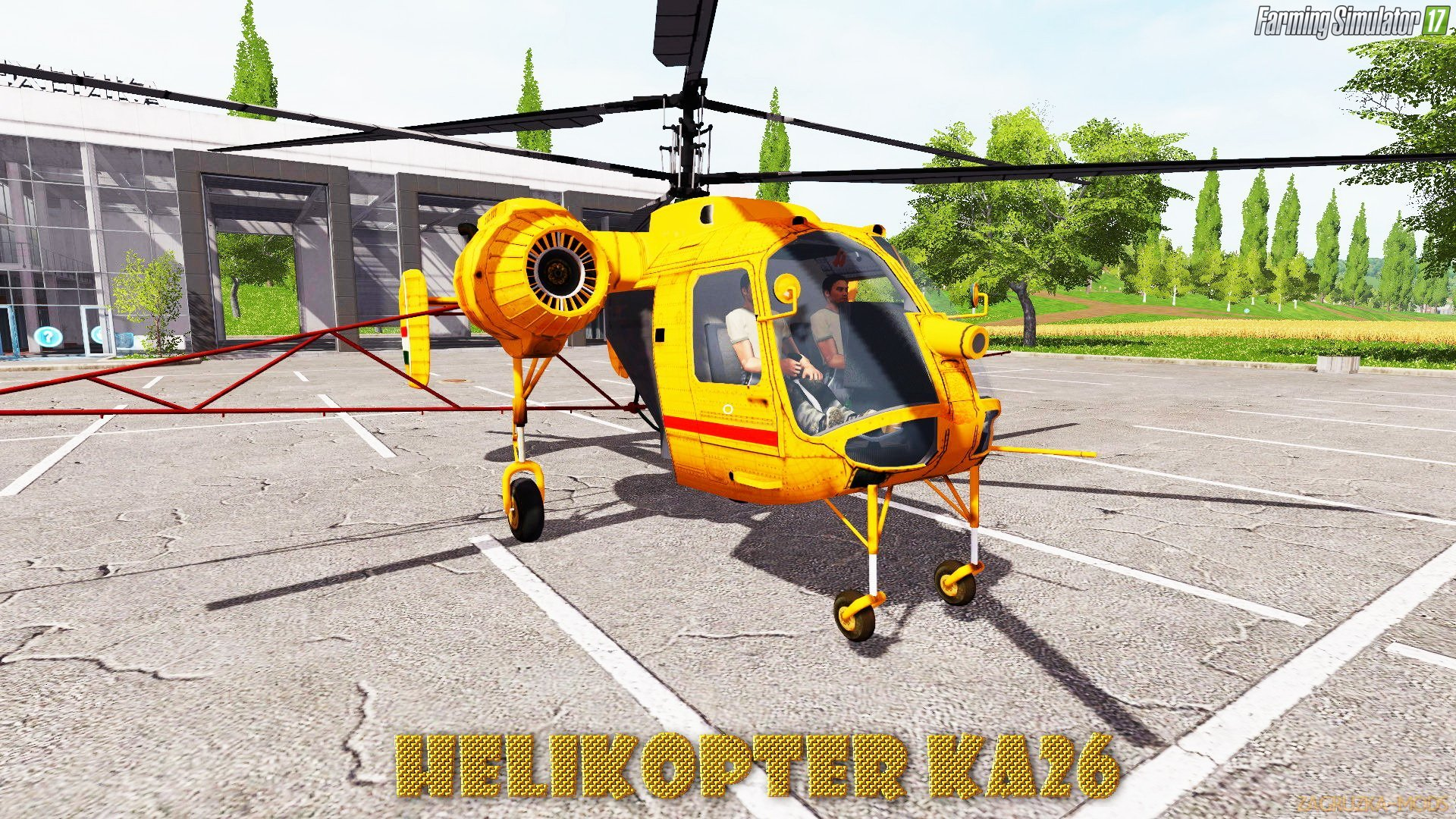 Helikopter KA26 v1.0 for FS 17