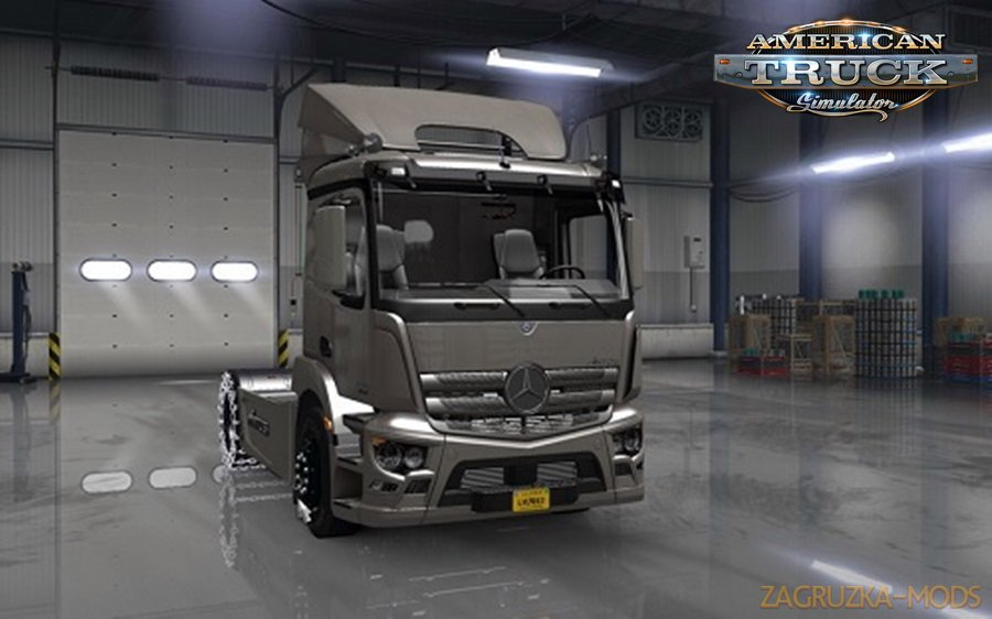 Mercedes-Antos 1840 for ATS