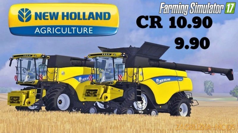New Holland CR1090 Pack for Fs17
