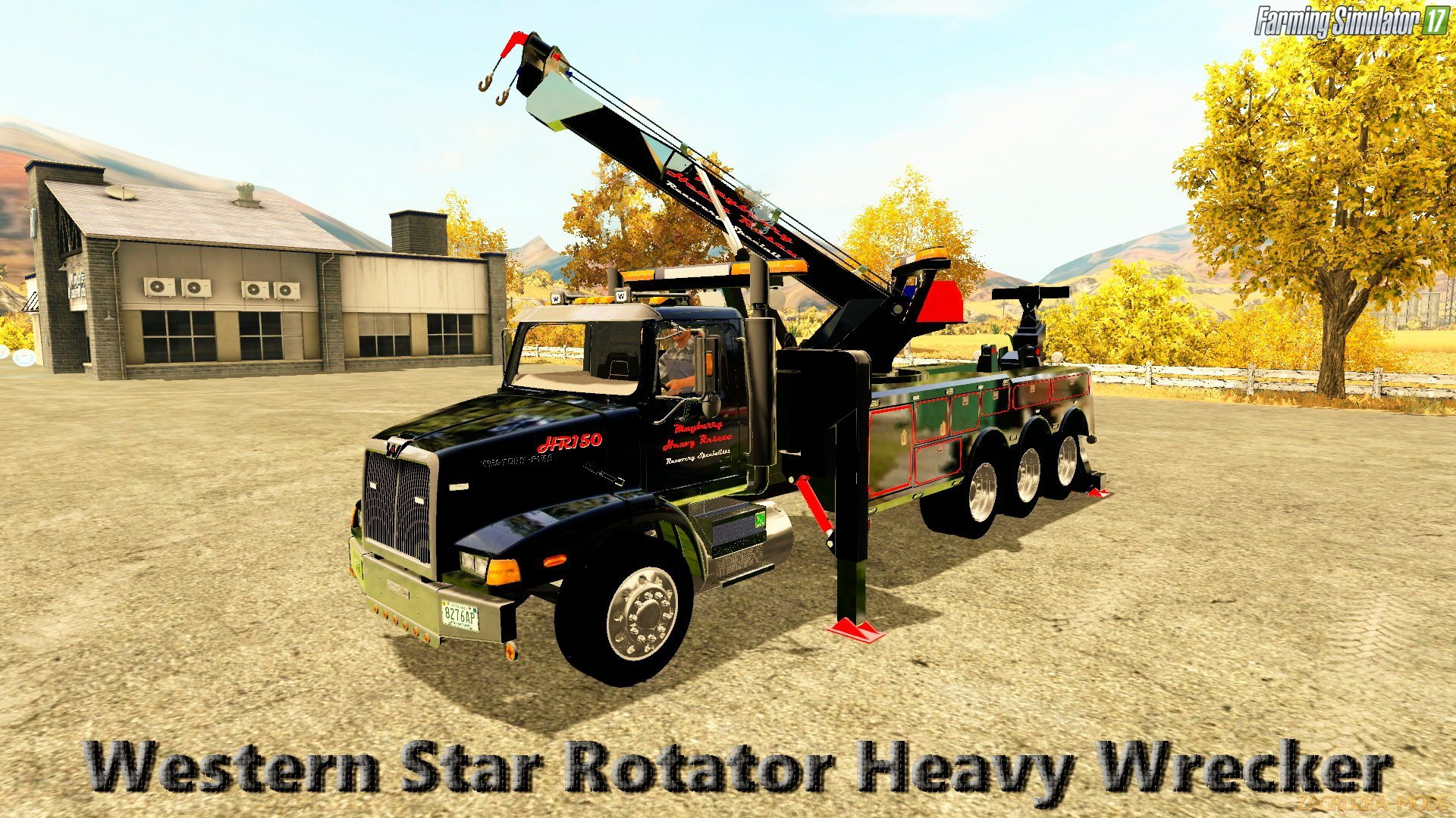 Western Star Rotator Heavy Wrecker V1 0 For Fs 17 Simulator Mods Ets 2 Ats Fs17 Csgo Gta 5 Train