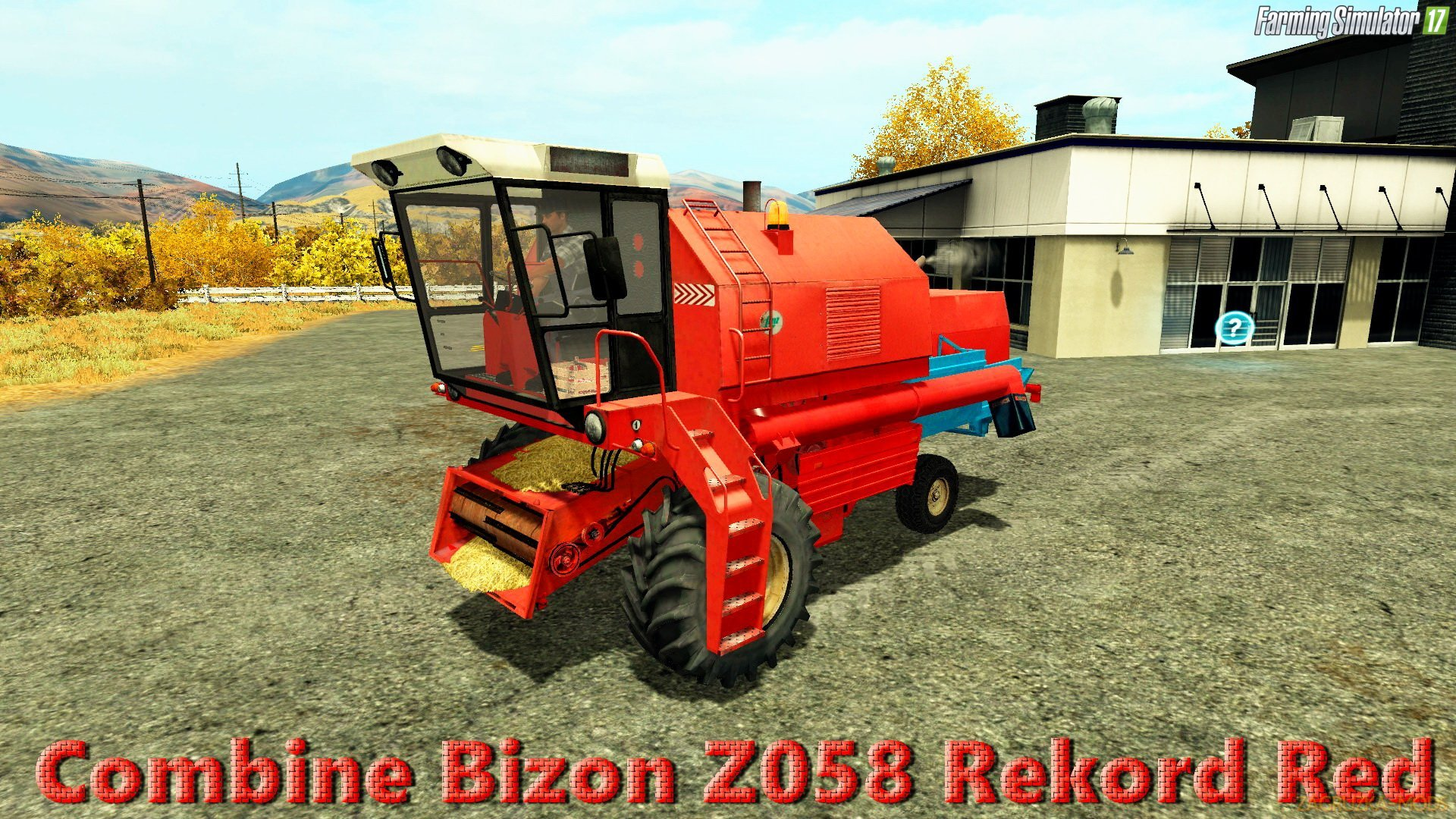 Bizon Z058 Rekord Red v1.0 for FS 17