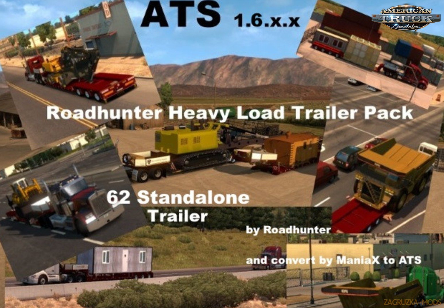 Heavy Cargo Pack v 3.0 for Ats