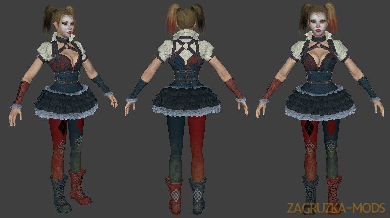 Harley Quinn Character from Batman: Arkham Knight v1.0 for CS:GO