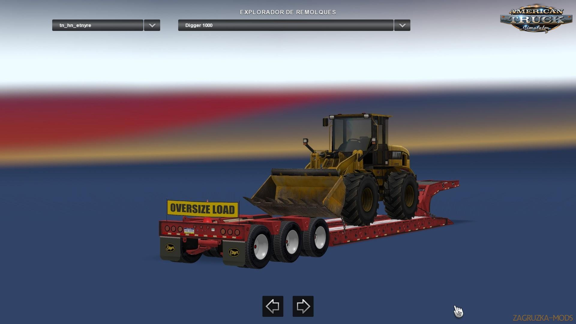 Etnyre Lowboy Black Hawk v2.0 (v1.35.x) for ATS