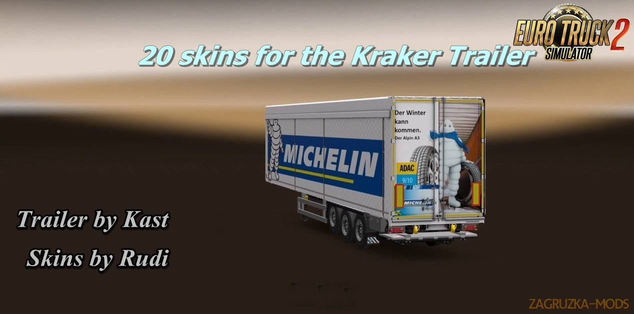 Rudi´s Skin Pack for Kraker Trailer [1.27.x]