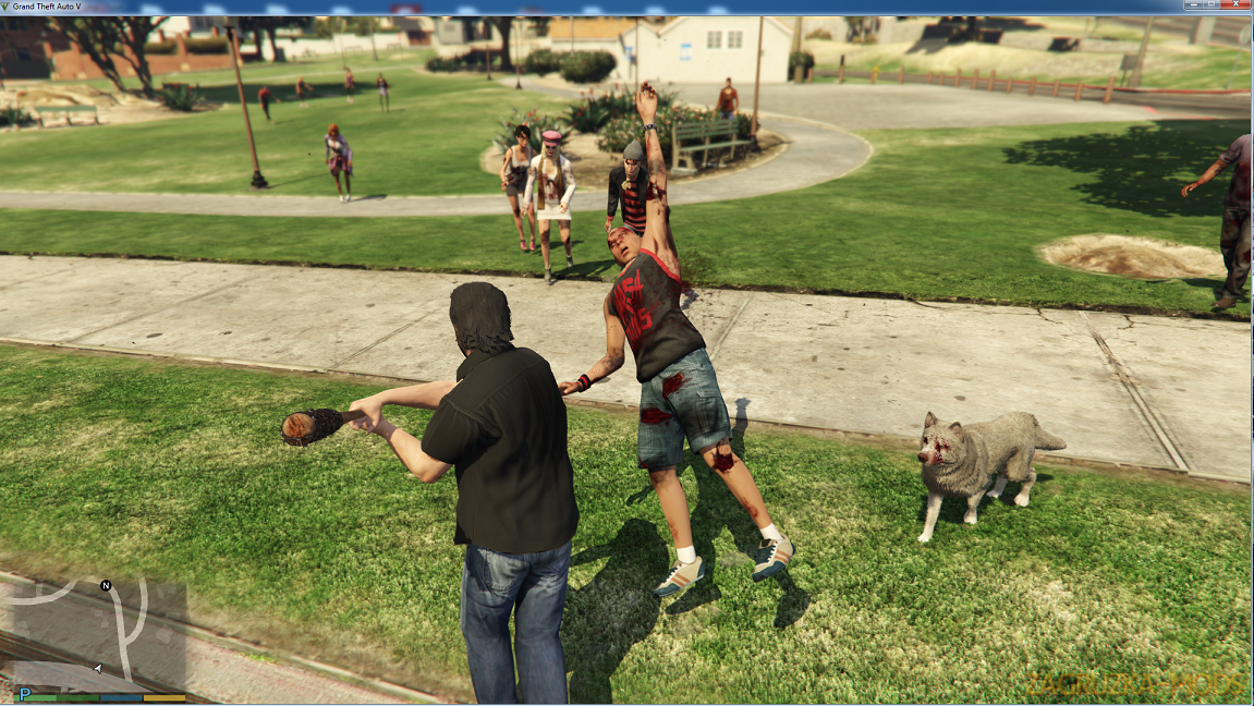Zombie Survivor Mod v1.0.1 for GTA 5