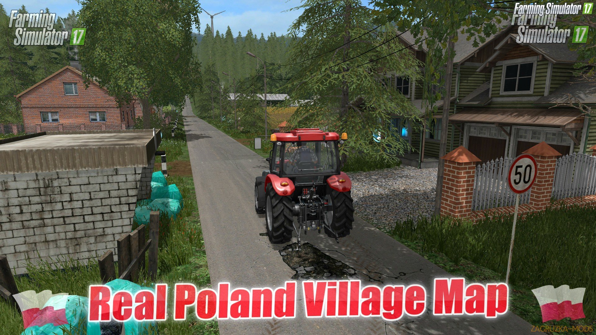 Real Poland Village Map v2.0 by Puma145 for FS 17