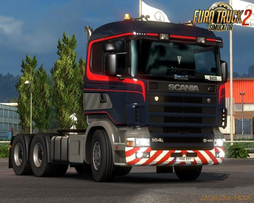Special transport RJL 4series skin by scaniac