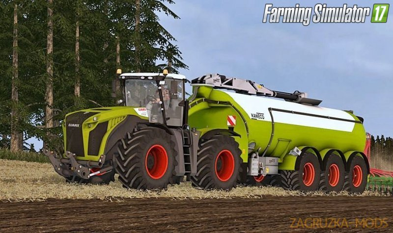 Claas Xerion/Kaweco Pack v2 for Fs17