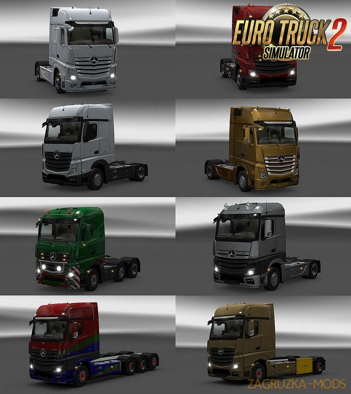 New Actros Plastic Parts and More [1.27.x]
