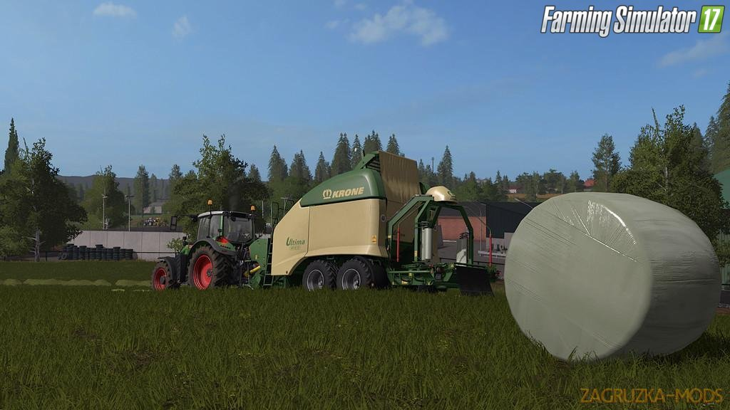 Krone Ultima CF 155 XC v1.0 for FS 17