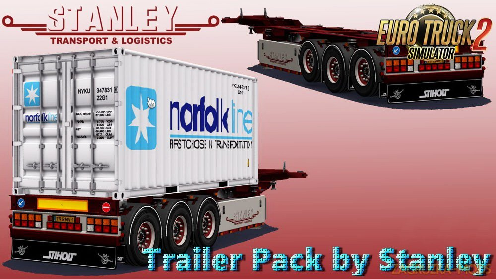 Trailer Pack v2.0 by Stanley (1.27.x) for ETS 2