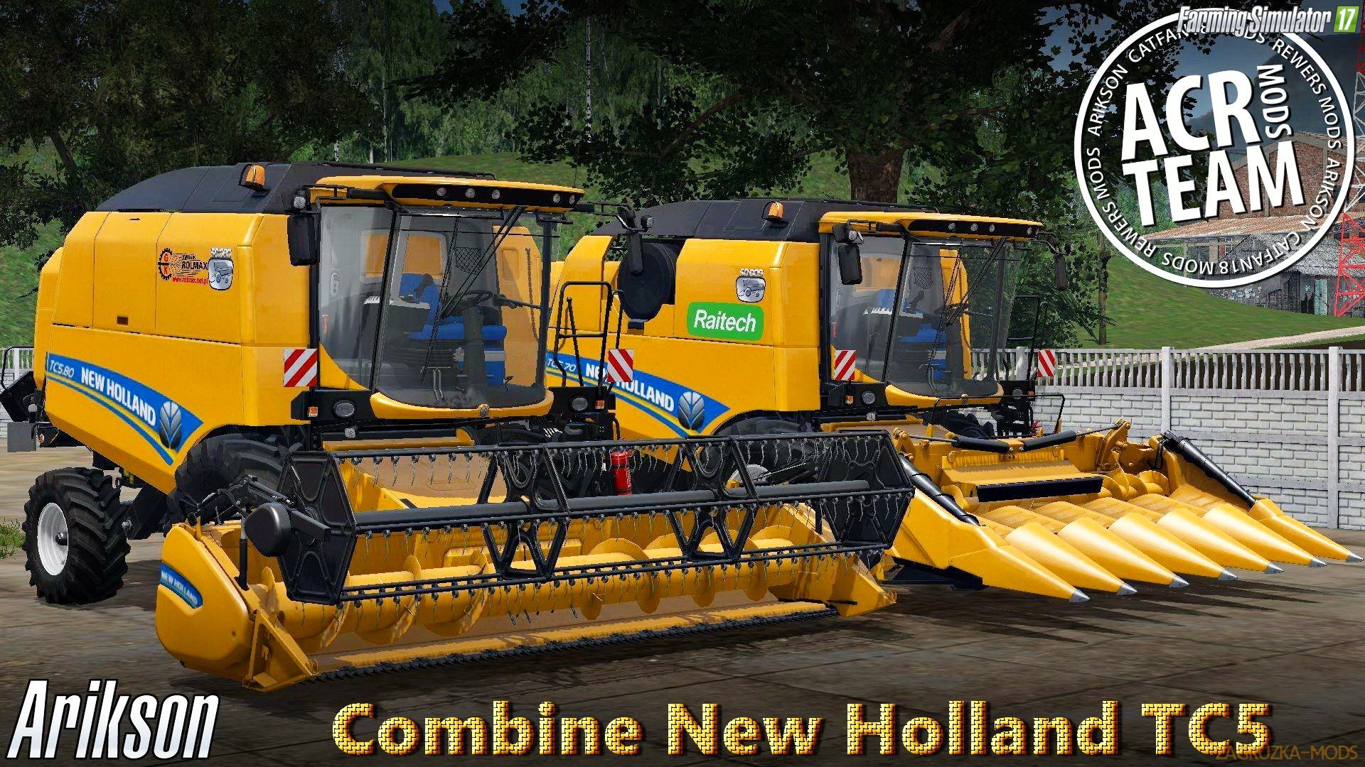 New Holland TC5 v1.0 by ACR Team for FS 17