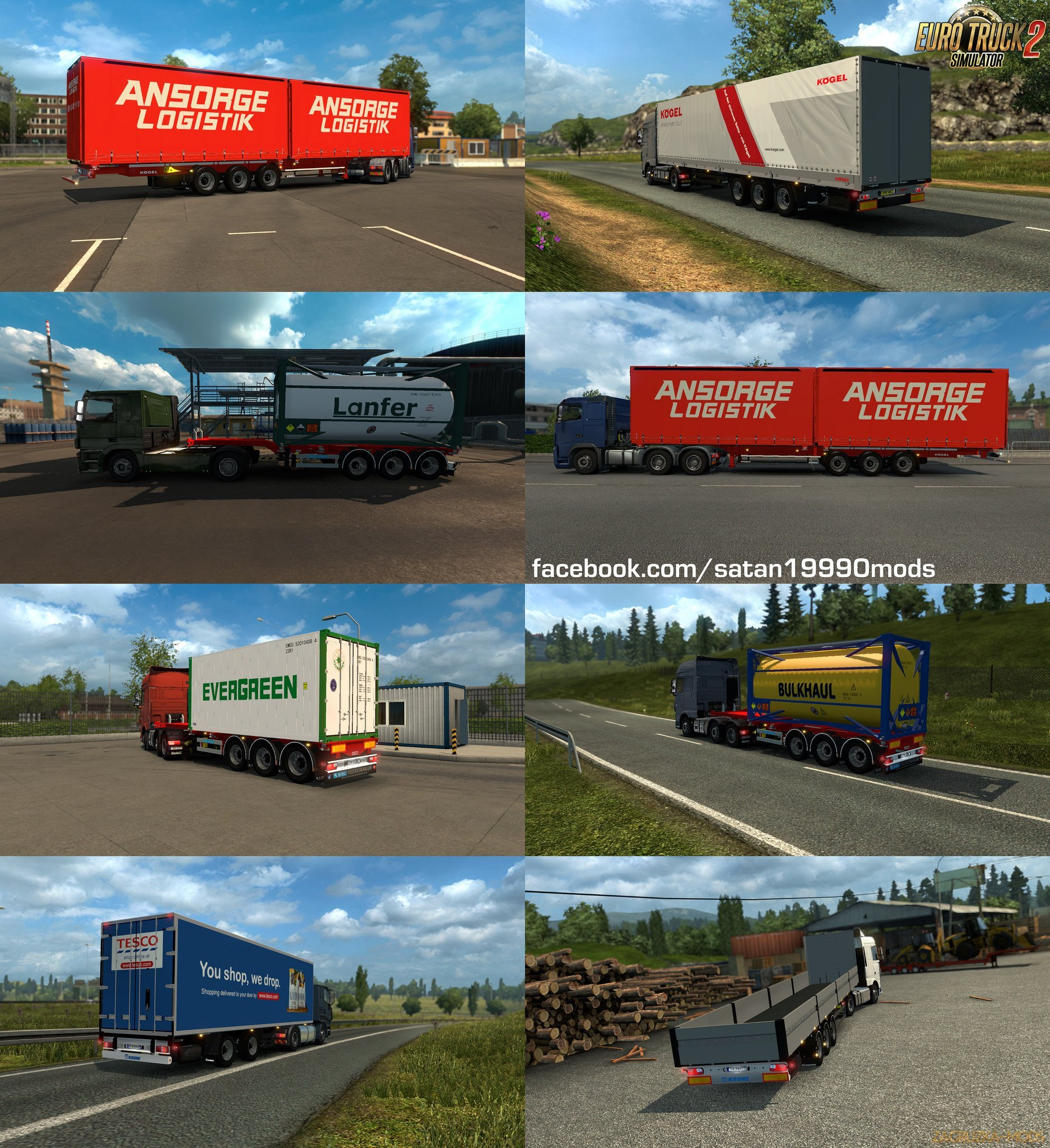 Trailer Mod Pack v4.1 by satan19990