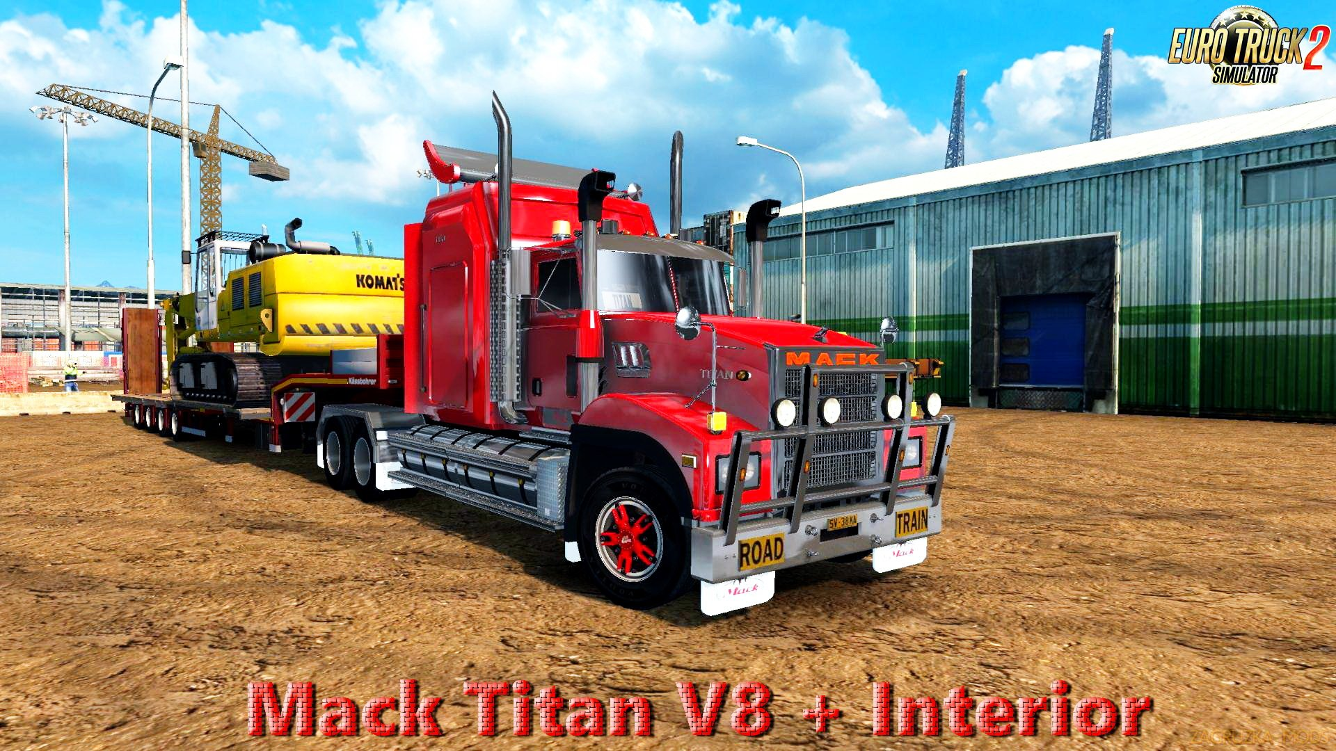 Mack Titan V8 + Interior v1.0 (Updated) (1.27.x) for ETS 2