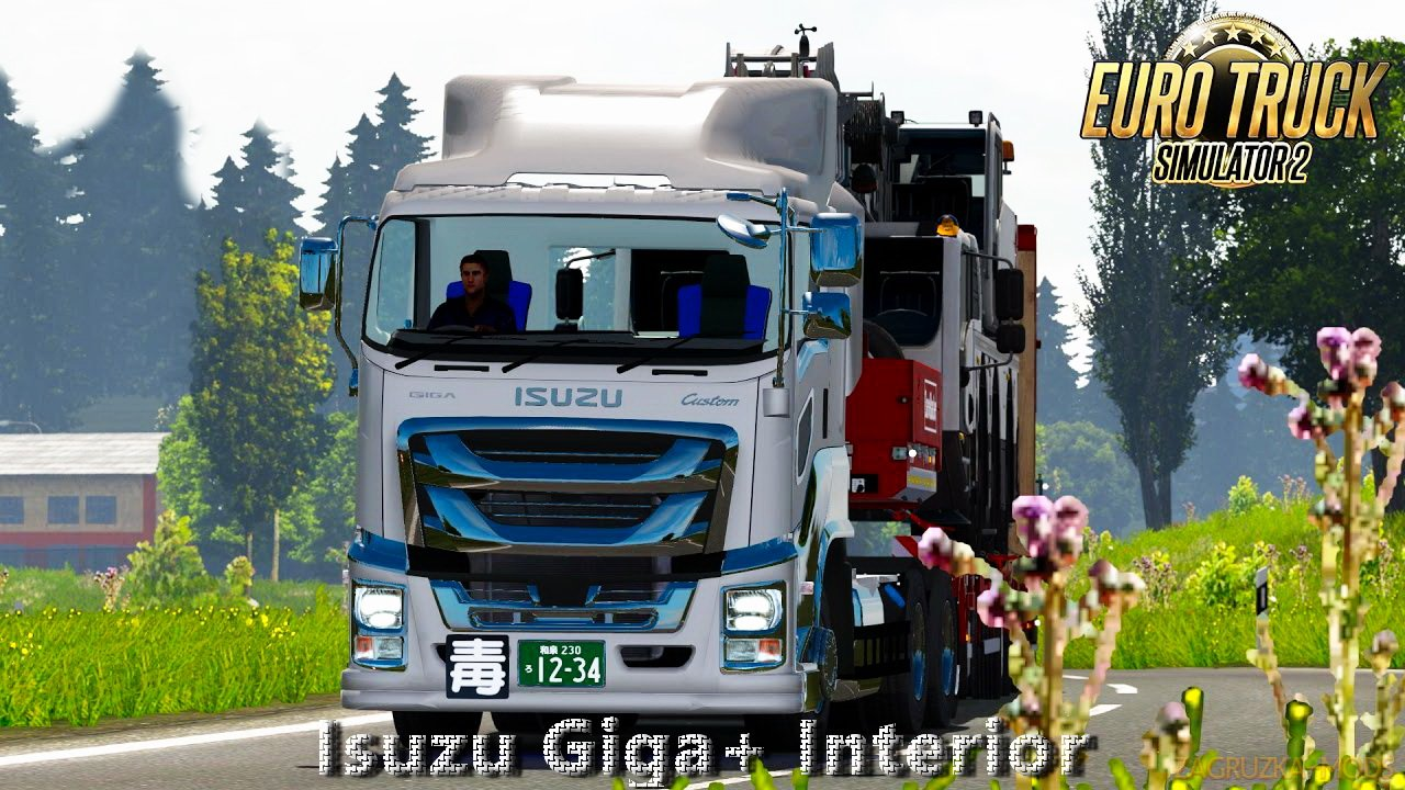 Isuzu Giga Truck + Interior v1.1 (1.39.x) for ETS2