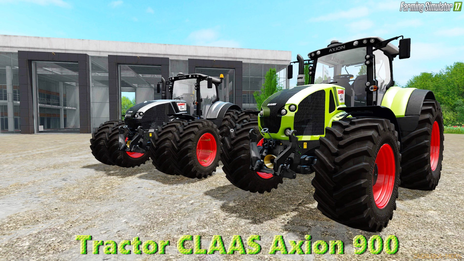 Claas Axion 900 v1.1 by Smety for FS 17