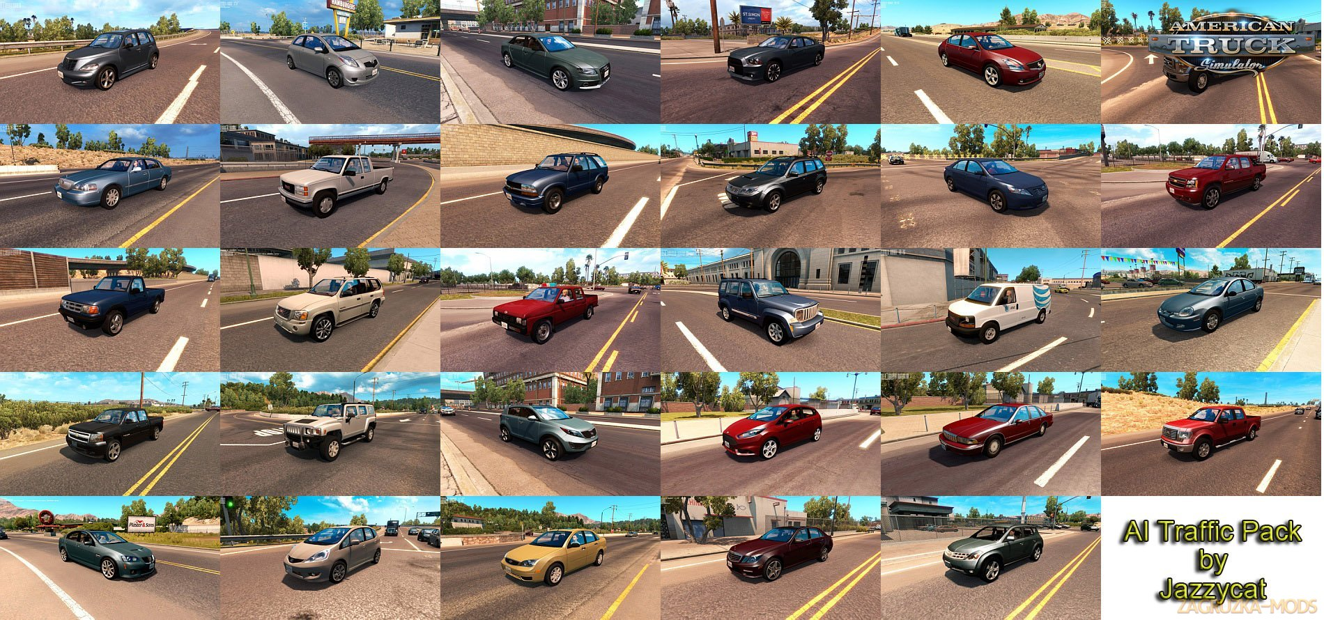 AI Traffic Pack by Jazzycat v2.8 (v1.28.x) for ATS