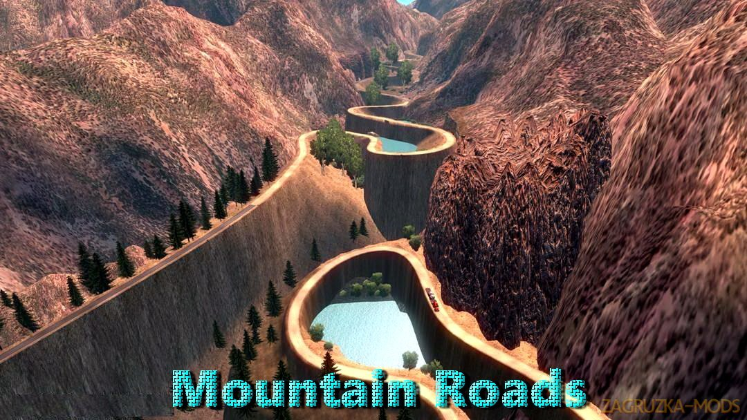 Mountain Roads Map Part 3 (v1.30.x) for ATS