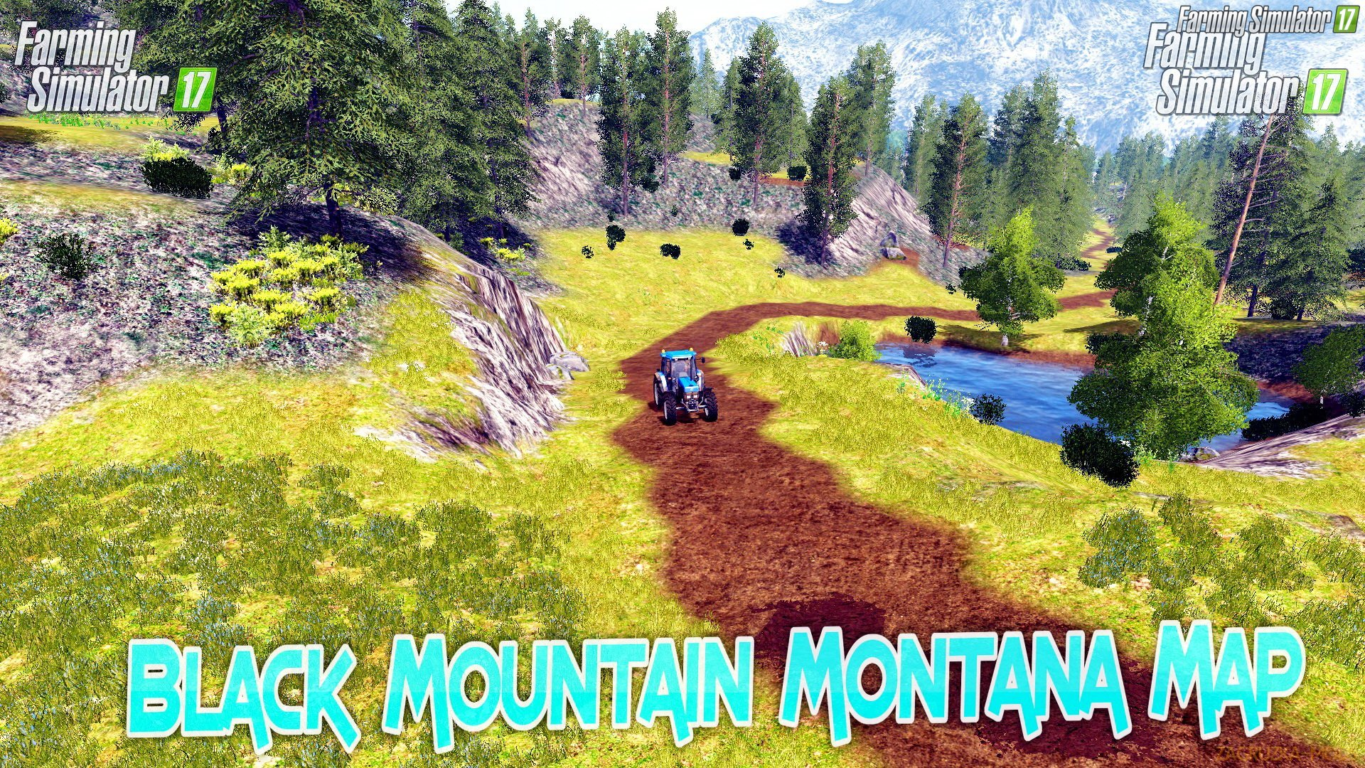 Black Mountain Montana Map v2.0 for FS 17