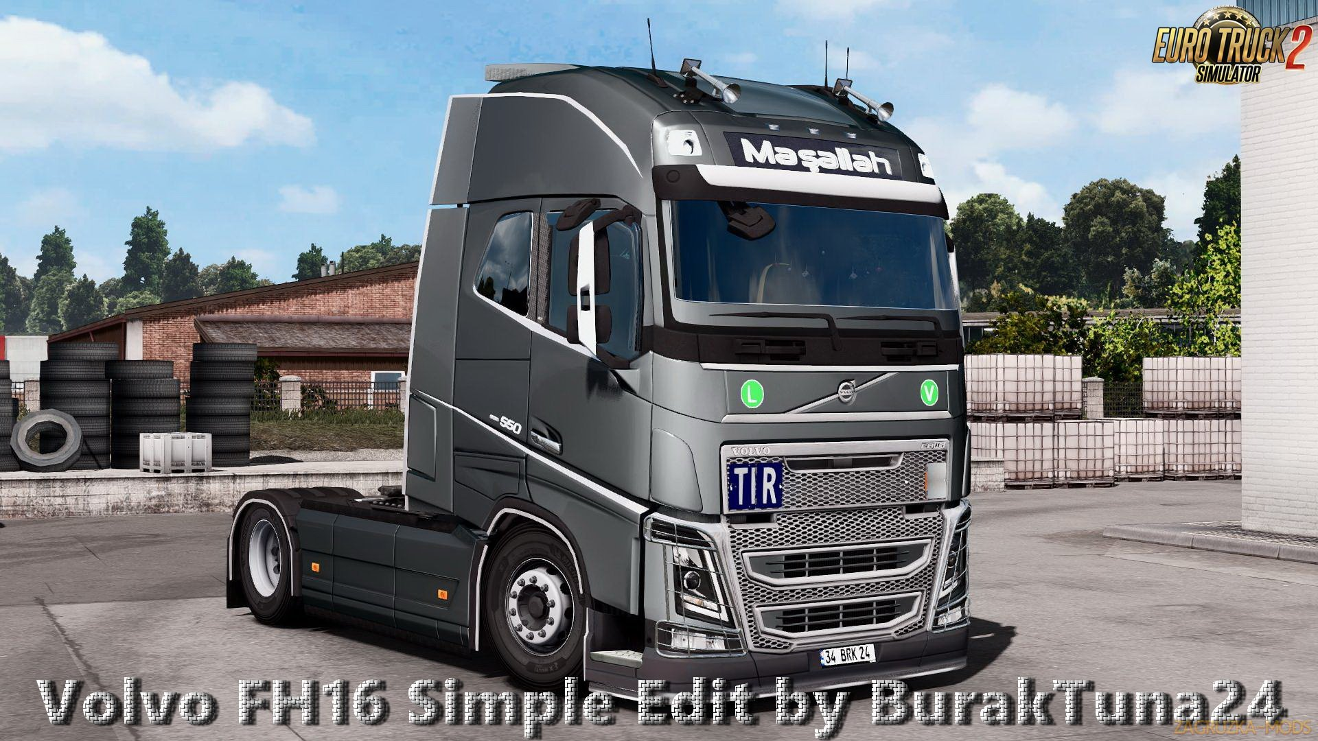 Volvo FH16 Simple Edit v1.0 by BurakTuna24 (1.27.x) for ETS 2