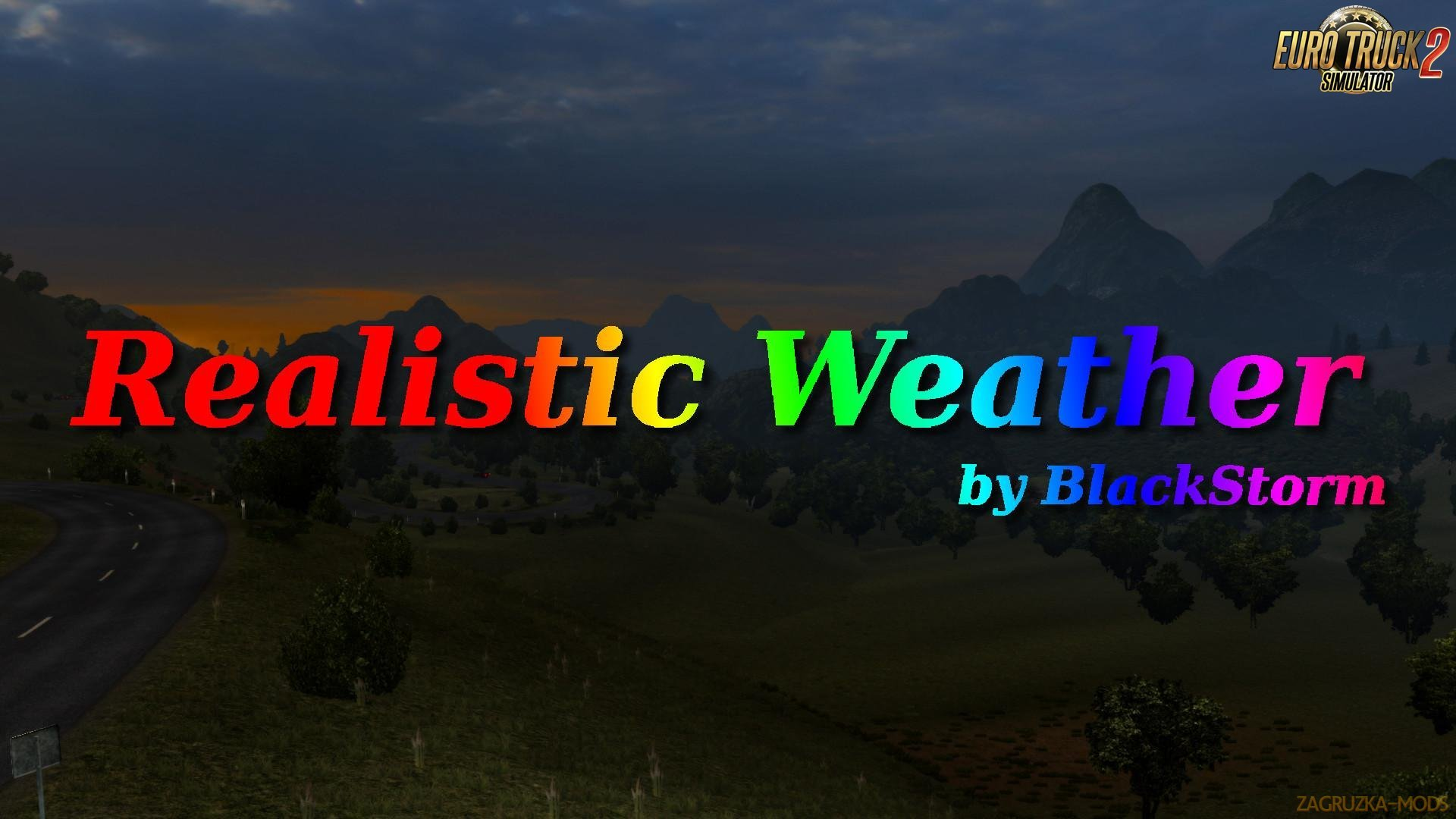 Realistic Weather by BlackStorm [1.27.x]