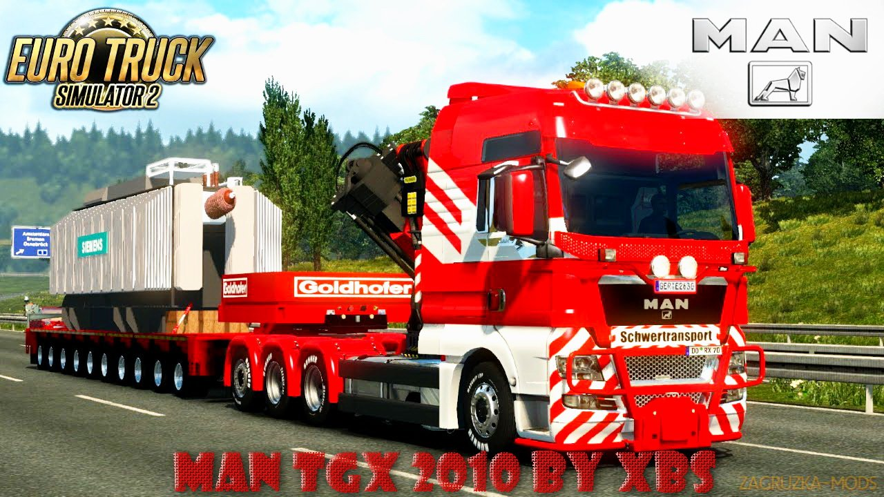 MAN TGX 2010 v3.7 by XBS (1.27.x) for ETS 2