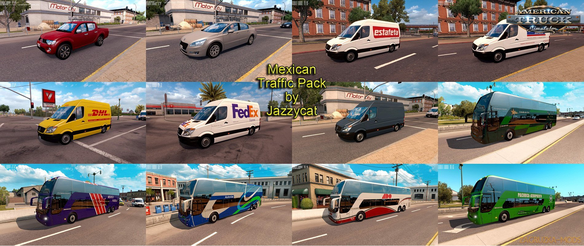 Mexican Traffic Pack v1.4 by Jazzycat