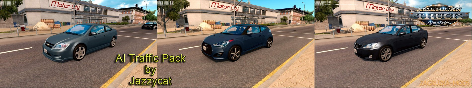 AI Traffic Pack v2.7 by Jazzycat