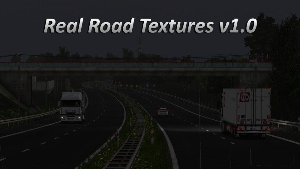 Real Road Textures v1.0 (1.27.x) for ETS 2