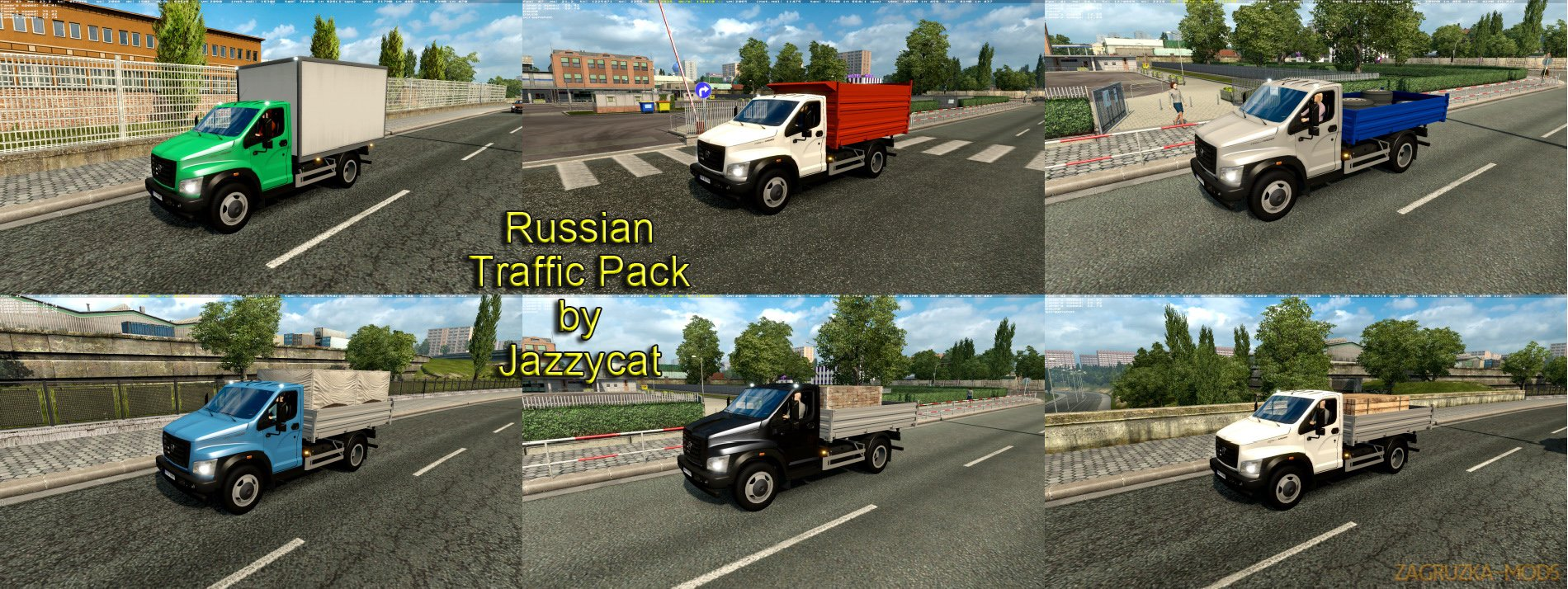 Russian Traffic Pack v2.1 by Jazzycat