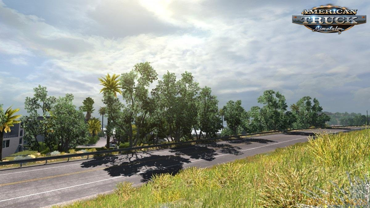 Enhanced Vegetation v1.0 by slavsan93 (v1.28.x) for ATS