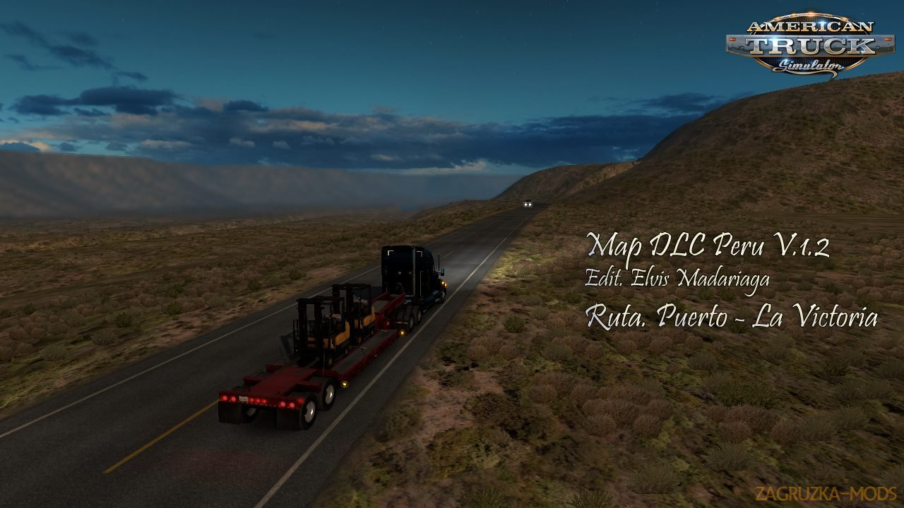 Map DLC Peru v1.4 (1.30.x) for ATS