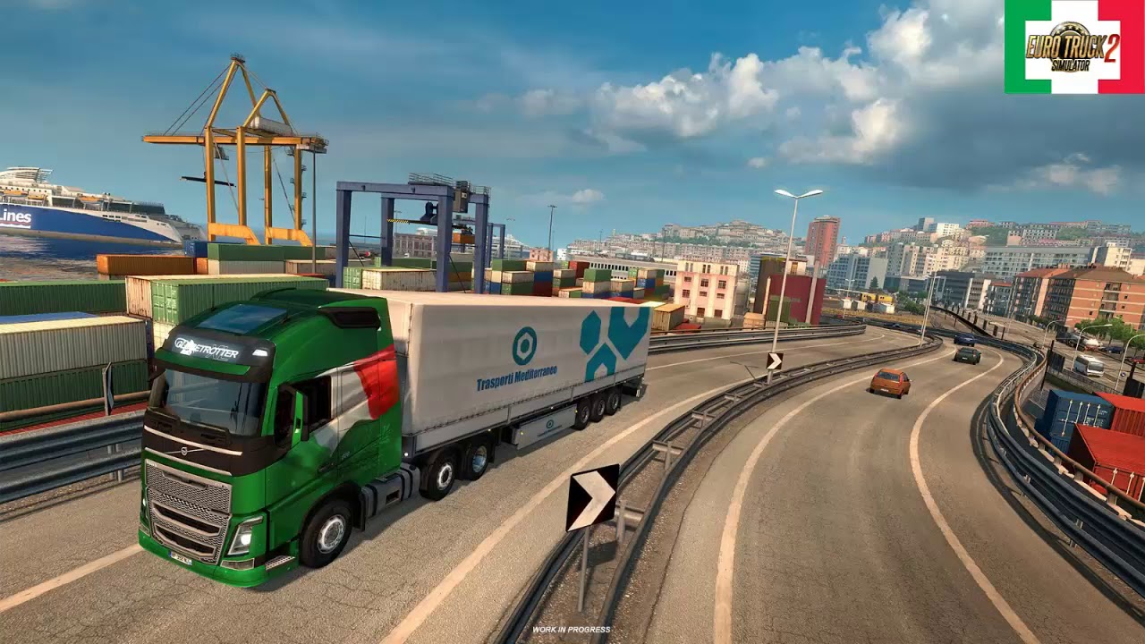 Bella Italia DLC Coming soon to ETS 2