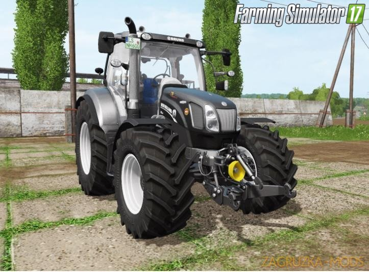 New Holland T6.120 v1.2 for Fs17