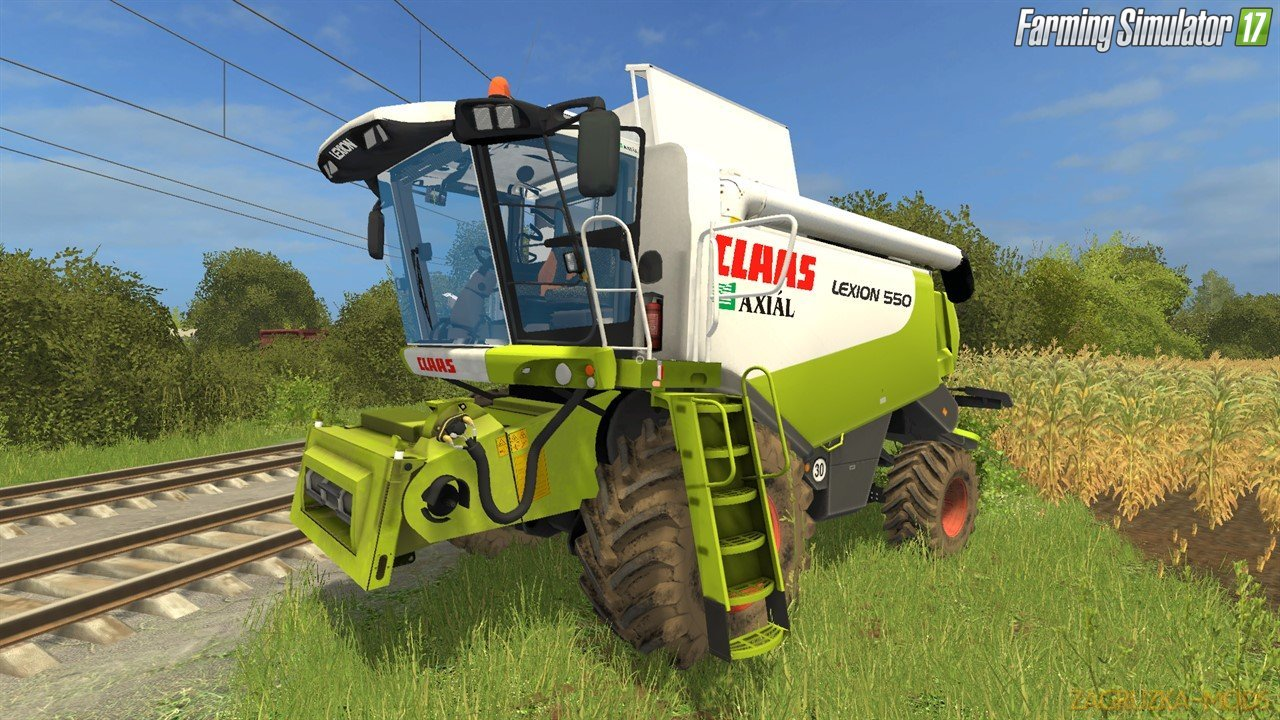 Combine Claas Lexion 550 Beta for Fs17