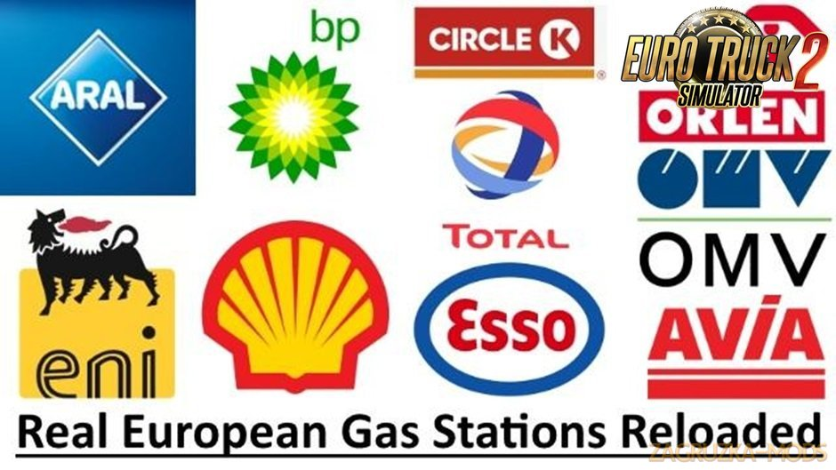 Real European Gas Stations (Reloaded) v2.0-Update
