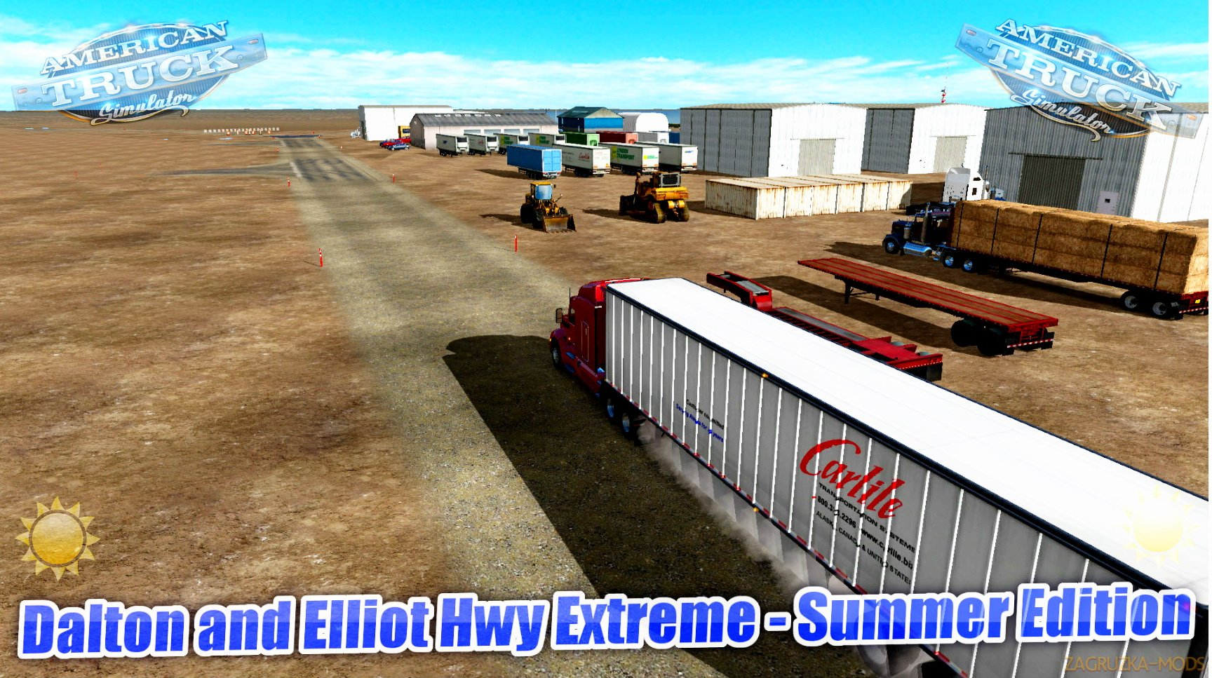 Dalton and Elliot Hwy Extreme - Summer Edition v1.0 (1.28.x) for ATS