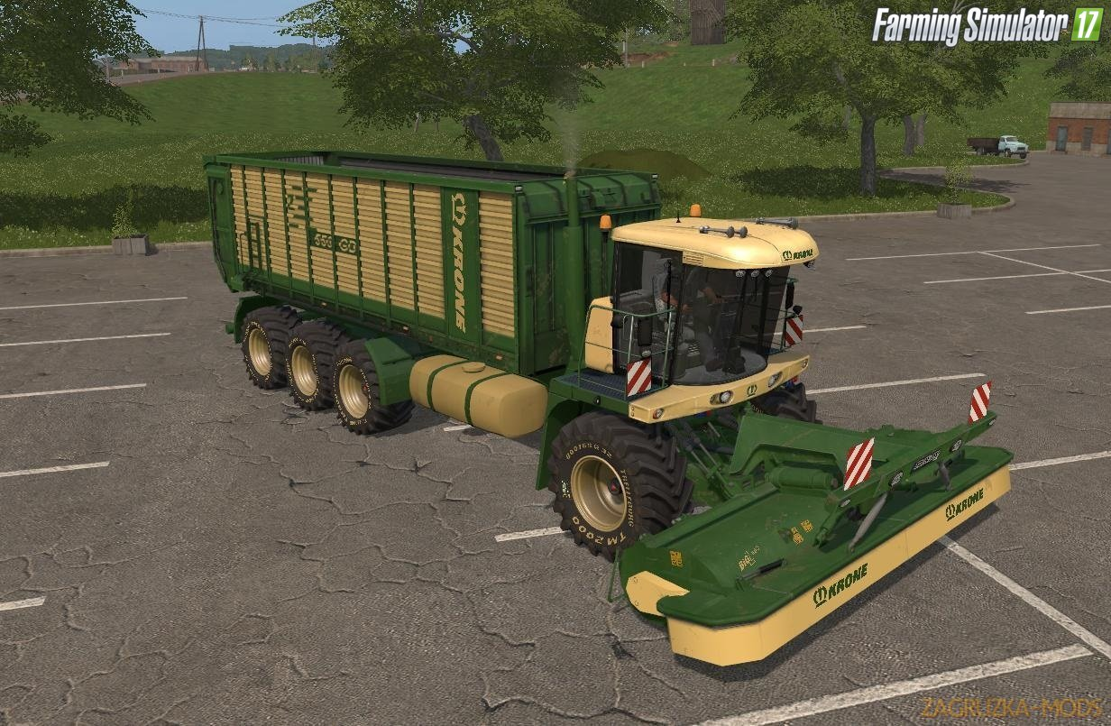 Krone Big Mower v1.0.0.2B for Fs17