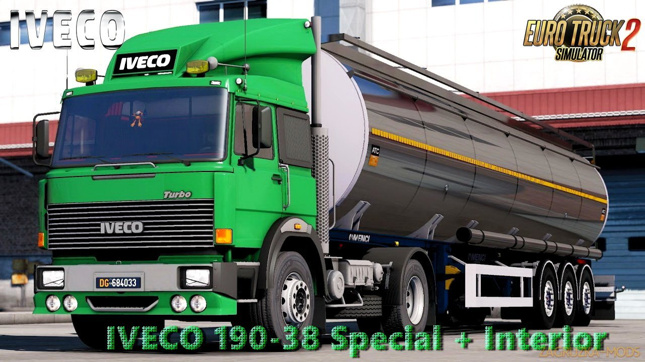 Iveco 190-38 Special + Interior v1.0 (Fixed) (1.28.x) for ETS 2