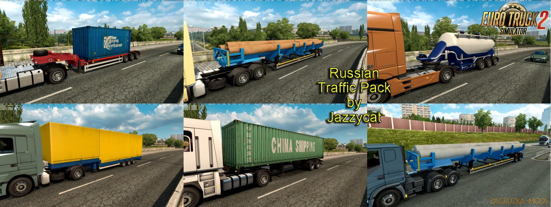Russian Traffic Pack v2.3 by Jazzycat